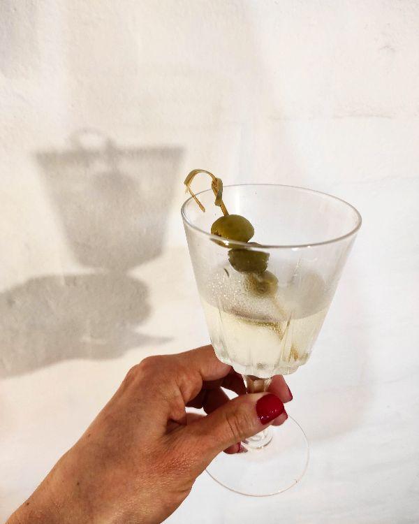 Dry martini con hesperidina